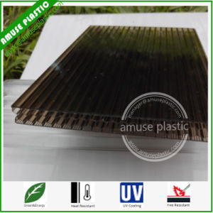 UV Protected Lexan Plastic Building Material Sheet Polycarbonate Cellular Panel pictures & photos