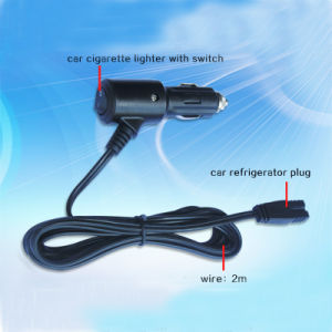 High Quality 12V 24V Car Refrigerator Wire pictures & photos