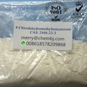 4-Chlorodehydromethyltestosterone Steroid Powder Oral Turinabol for Muscular Endurance Gain