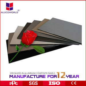 Alucoworld Nano Production Line Aluminum Composite Panel pictures & photos