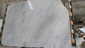 China Natural Stone Polished Chiva White/Guangxi White Stone Tiles for Floor/Kitchen/Bathroom pictures & photos