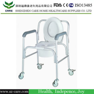 Mobile Shower Chair Commode Transport pictures & photos
