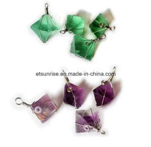 Semi Precious Stone Fashion Crystal Gemstone Beadjewelry Pendant (ESB01475) pictures & photos
