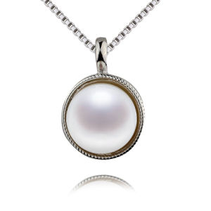 Simple Design Wholesale Price White Pearl Pendant pictures & photos