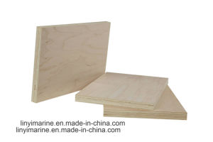 18mm Maple Face Plywood E1 E2 Glue Furniture Grade pictures & photos
