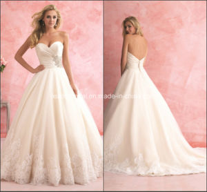 Sweetheart Ball Gowns Lace Applique Fashion Wedding Dresses Y2034 pictures & photos