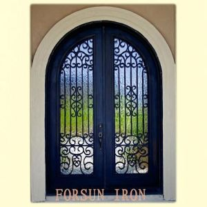 Luxury Hotel Front Door with Hand-Forged pictures & photos