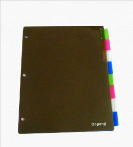 PP Index Divider Assorted Color (F-A024) pictures & photos