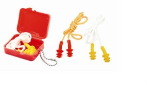 CE Approved PPE Items Security Products Safety Products Silicon Earplug Ge005 pictures & photos