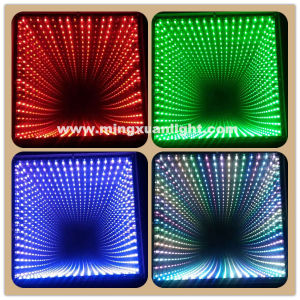 Deep Tunnel 3D LED Flooring Portable Dance Floor pictures & photos