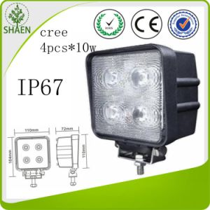 High Quality CREE 40W ATV LED Work Lamp pictures & photos