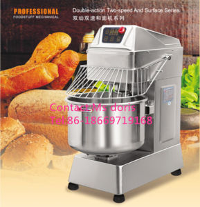 Bakery Equipment Bakery Spiral Mixer/Dough Mixer pictures & photos