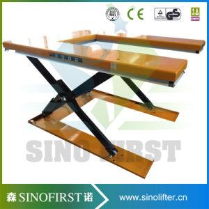 2ton Static Custom Goods Scissor Cargo Pallet Lift Table Price pictures & photos