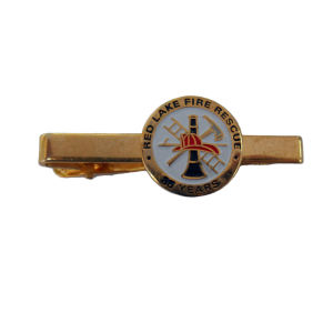 Customized Tie Clip with Enamel Logo pictures & photos