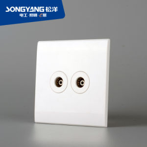 PC Series 2TV Wall Switch pictures & photos