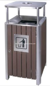 Good Quality WPC Outdoor Waste Bin (DL84) pictures & photos