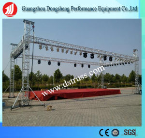 Performance Use Adjustable Folding Stage Aluminum Alloy Mobile Stage pictures & photos