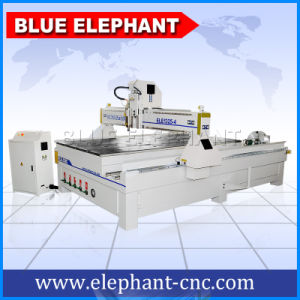 High Quality 3D Cylinder Rotary 4X8 FT Wood CNC Router Machine pictures & photos