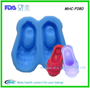 Custom Cake Top Decoration Art Deco Shoe Mold for Fondant Art