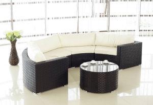 Flat Wicker Sofa Set Outdoor Furniture- 5PCS (BZ-SF005)