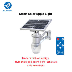 IP65 6W 600-720lm Outdoor Garden Solar Light with Lithium Battery pictures & photos