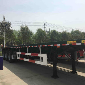 40FT Flatbed Chassis with 40ton Payload pictures & photos