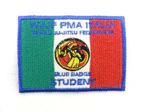 Good Quality Hand Made Embroidered/Embroidery Badges for Clothing pictures & photos