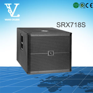 Srx718s Single 18′′ Professional Sound Equipment as Subwoofer