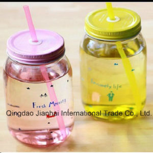 Rounded Transparent Glass Bottle Mason Glass Jar pictures & photos