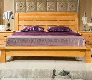 Solid Wooden Bed Modern Beds (M-X2247) pictures & photos