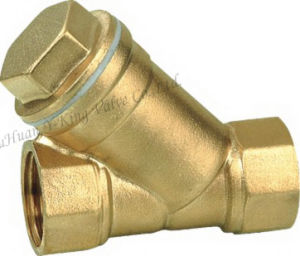 Y Filter Brass Swing Check Valve (YD-3010) pictures & photos