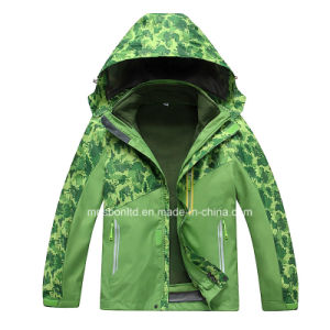 Outdoor Sports Active Cute Kids Camo Ski Jackets pictures & photos