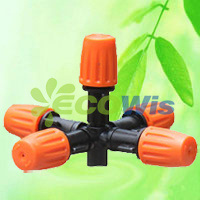 Orange Nozzle Five Outlets Atomizing Nozzle Sprinkler (HT6341L) pictures & photos