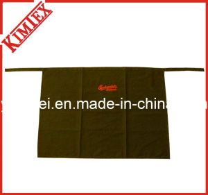 100% Cotton Promotion Embroidery Kitchen Half Waist Apron pictures & photos