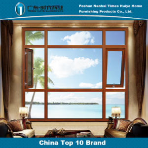 Bicolor Multiple Function Secure Aluminium Casement Windows for Villa pictures & photos
