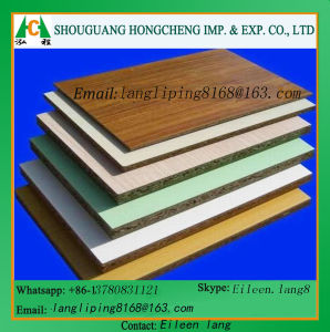 Different Color Melamine Faced MDF for Furinture pictures & photos