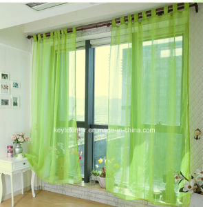 Solid Voile Windows Curtains (C14117) pictures & photos