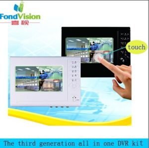 CCTV NVR Support 3G Mini Portable P2p 720p 4CH NVR pictures & photos