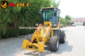 Wolf New 1ton Wheel Loader with Widest Tires pictures & photos