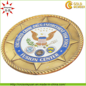3D Customize Metal Challenge Coin for Souvenir pictures & photos