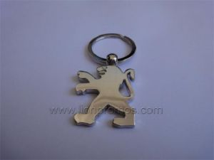 Automotive Promotional Gift Car Logo Shape Metal Keychain pictures & photos