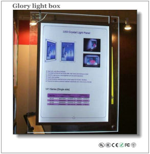 Hanging Acrylic Crystal LED Panel pictures & photos