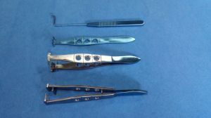 Tweezer Set Blepharoplasty Forceps Set pictures & photos