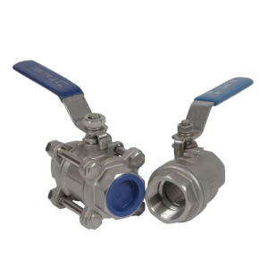 High Quantily Cast Steel Ball Valve pictures & photos