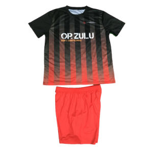 Soccer Uniform with Socks Football Jersey Kit with Custom Size pictures & photos