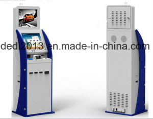 ATM Banking Machine Ticket Vending Machine with Bill Acceptor pictures & photos