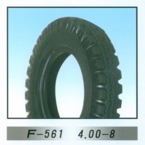 Motorcycle Tire /Tyre (4.00-8) pictures & photos