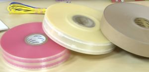 Logo Printed Clear OPP Tape Used for Bundling pictures & photos