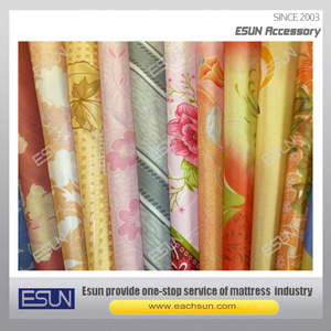 100% Polyester Mattress Printed Fabric (QM101-T) pictures & photos