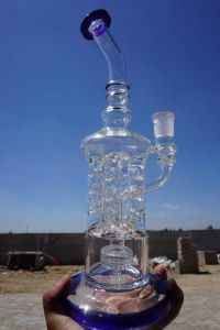 Glass Water Pipe with Recycler Water Pipe -Factory Price pictures & photos